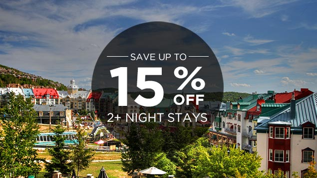 SUMMER 2017- Stay 2 nights and more and save up to 15%
