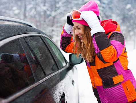 Each Tremblant Sunstar property has one free reserved parking space